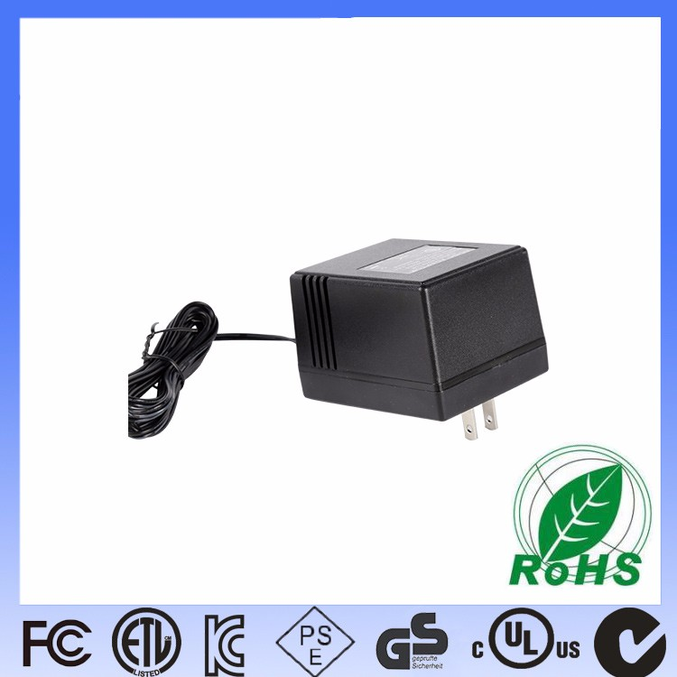 How does the power adapter manufacturer inspect and judge the power quality?